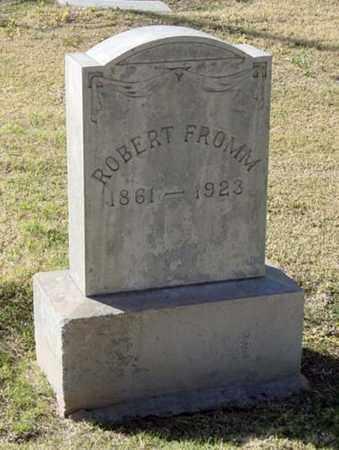 FROMM, ROBERT - Maricopa County, Arizona | ROBERT FROMM - Arizona Gravestone Photos