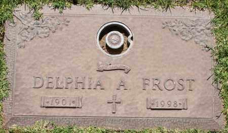 FROST, DELPHIA A - Maricopa County, Arizona | DELPHIA A FROST - Arizona Gravestone Photos
