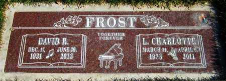 FROST, DAVID R - Maricopa County, Arizona | DAVID R FROST - Arizona Gravestone Photos