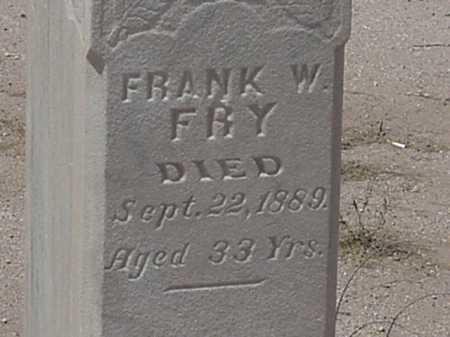 FRY, FRANK W - Maricopa County, Arizona | FRANK W FRY - Arizona Gravestone Photos