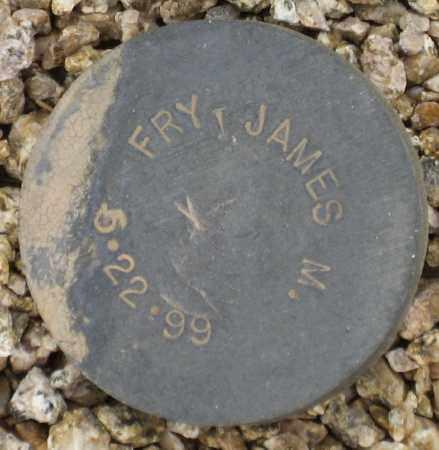FRY, JAMES M. - Maricopa County, Arizona   JAMES M. FRY - Arizona Gravestone Photos