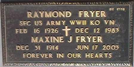 FRYER, RAYMOND - Maricopa County, Arizona | RAYMOND FRYER - Arizona Gravestone Photos