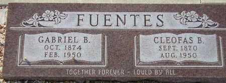FUENTES, GABRIEL B. - Maricopa County, Arizona | GABRIEL B. FUENTES - Arizona Gravestone Photos