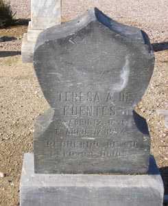 FUENTES, TERESA A. - Maricopa County, Arizona | TERESA A. FUENTES - Arizona Gravestone Photos