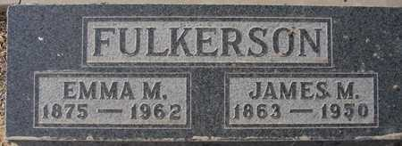FULKERSON, JAMES M. - Maricopa County, Arizona   JAMES M. FULKERSON - Arizona Gravestone Photos