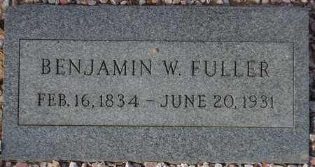 FULLER, BENJAMIN W. - Maricopa County, Arizona | BENJAMIN W. FULLER - Arizona Gravestone Photos