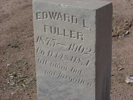 FULLER, EDWARD L - Maricopa County, Arizona | EDWARD L FULLER - Arizona Gravestone Photos