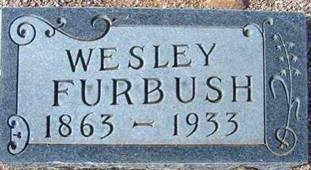 FURBUSH, WESLEY (WEST) - Maricopa County, Arizona   WESLEY (WEST) FURBUSH - Arizona Gravestone Photos