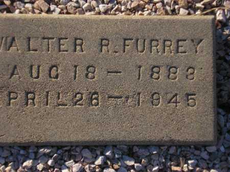 FURREY, WALTER R. - Maricopa County, Arizona | WALTER R. FURREY - Arizona Gravestone Photos