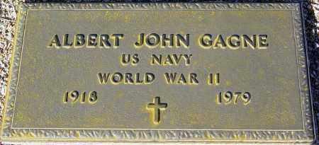 GAGNE, ALBERT JOHN - Maricopa County, Arizona | ALBERT JOHN GAGNE - Arizona Gravestone Photos