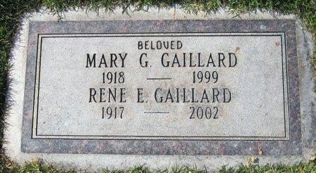 GAILLARD, MARY G - Maricopa County, Arizona | MARY G GAILLARD - Arizona Gravestone Photos
