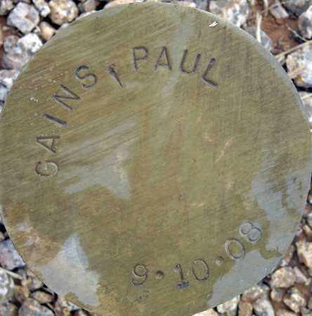 GAINS, PAUL - Maricopa County, Arizona | PAUL GAINS - Arizona Gravestone Photos