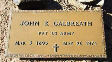 GALBREATH, JOHN K. - Maricopa County, Arizona   JOHN K. GALBREATH - Arizona Gravestone Photos