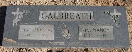GALBREATH, REV. NANCY - Maricopa County, Arizona | REV. NANCY GALBREATH - Arizona Gravestone Photos
