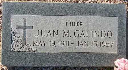 GALINDO, JUAN M. - Maricopa County, Arizona   JUAN M. GALINDO - Arizona Gravestone Photos