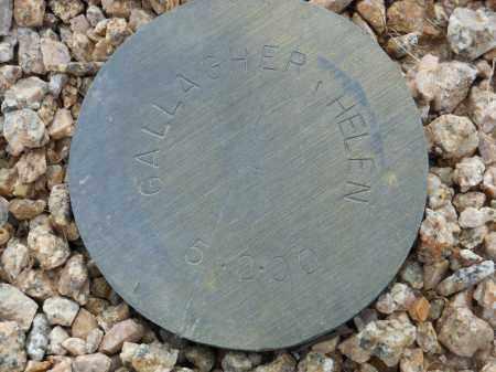GALLAGHER, HELEN - Maricopa County, Arizona | HELEN GALLAGHER - Arizona Gravestone Photos