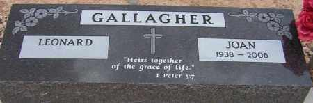 GALLAGHER, JOAN LORRAINE - Maricopa County, Arizona | JOAN LORRAINE GALLAGHER - Arizona Gravestone Photos