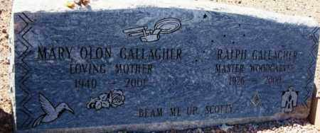 GALLAGHER, MARY - Maricopa County, Arizona | MARY GALLAGHER - Arizona Gravestone Photos