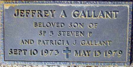 GALLANT, JEFFREY A - Maricopa County, Arizona | JEFFREY A GALLANT - Arizona Gravestone Photos