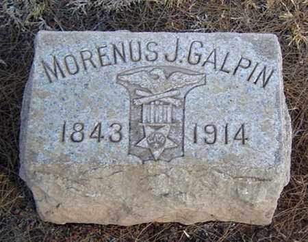 GALPIN, MORENUS J. - Maricopa County, Arizona | MORENUS J. GALPIN - Arizona Gravestone Photos