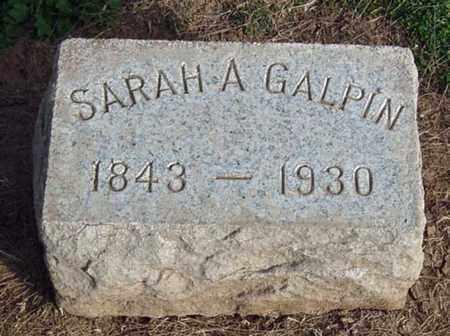 WHITNEY GALPIN, SARAH A. - Maricopa County, Arizona | SARAH A. WHITNEY GALPIN - Arizona Gravestone Photos