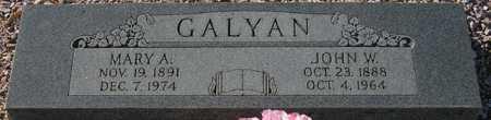GALYAN, MARY A. - Maricopa County, Arizona   MARY A. GALYAN - Arizona Gravestone Photos