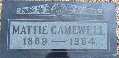 GAMEWELL, MATTIE JANE - Maricopa County, Arizona | MATTIE JANE GAMEWELL - Arizona Gravestone Photos