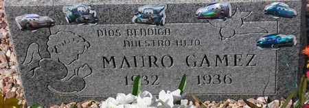 GAMEZ, MAURO - Maricopa County, Arizona | MAURO GAMEZ - Arizona Gravestone Photos
