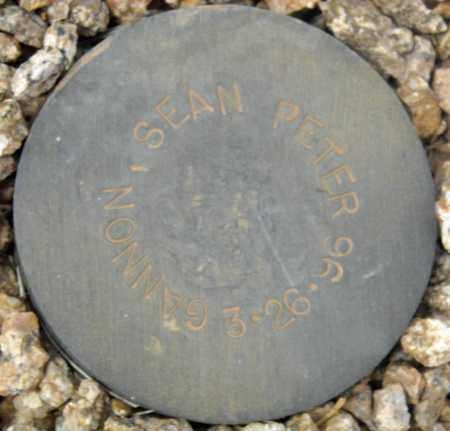 GANNON, SEAN PETER - Maricopa County, Arizona | SEAN PETER GANNON - Arizona Gravestone Photos