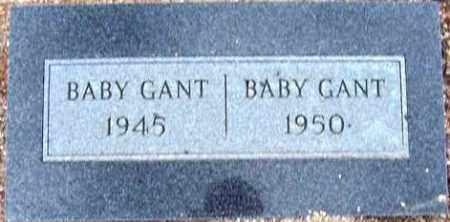 GANT, BABY - Maricopa County, Arizona | BABY GANT - Arizona Gravestone Photos