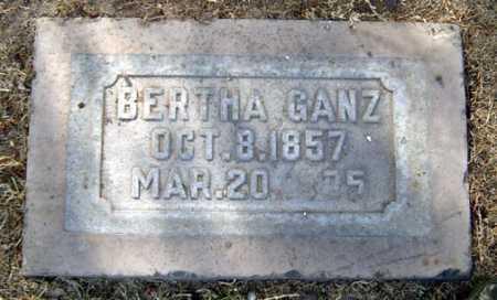 GANZ, BERTHA - Maricopa County, Arizona   BERTHA GANZ - Arizona Gravestone Photos