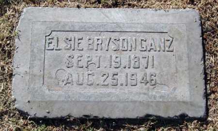 BRYSON GANZ, ELSIE - Maricopa County, Arizona | ELSIE BRYSON GANZ - Arizona Gravestone Photos