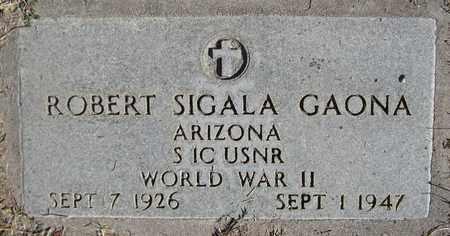 GAONA, ROBERT SIGALA - Maricopa County, Arizona | ROBERT SIGALA GAONA - Arizona Gravestone Photos