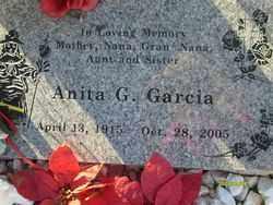 GARCIA, ANITA G. - Maricopa County, Arizona | ANITA G. GARCIA - Arizona Gravestone Photos