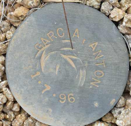 GARCIA, ANTON - Maricopa County, Arizona | ANTON GARCIA - Arizona Gravestone Photos