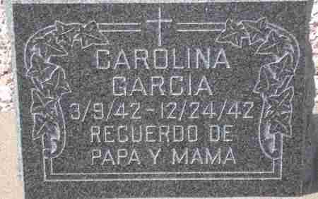 GARCIA, CAROLINA - Maricopa County, Arizona | CAROLINA GARCIA - Arizona Gravestone Photos
