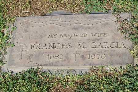 GARCIA, FRANCES M. - Maricopa County, Arizona | FRANCES M. GARCIA - Arizona Gravestone Photos