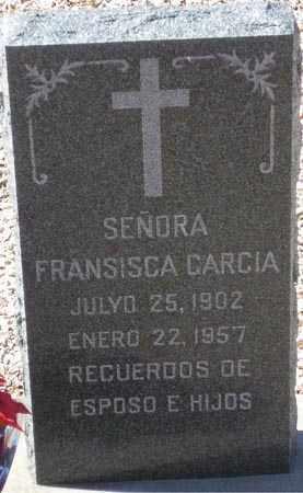 GARCIA, FRANCISCA - Maricopa County, Arizona | FRANCISCA GARCIA - Arizona Gravestone Photos