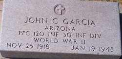GARCIA, JOHN C. - Maricopa County, Arizona | JOHN C. GARCIA - Arizona Gravestone Photos