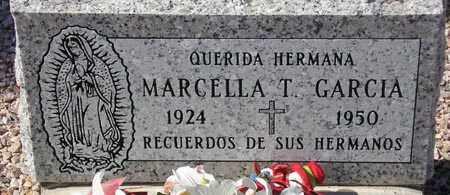 GARCIA, MARCELLA T. - Maricopa County, Arizona | MARCELLA T. GARCIA - Arizona Gravestone Photos