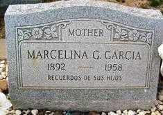 GARCIA, MARCELINA - Maricopa County, Arizona   MARCELINA GARCIA - Arizona Gravestone Photos