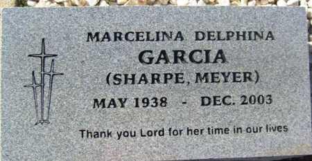 GARCIA SHARPE - MEYER, MARCELINA DELPHINA - Maricopa County, Arizona | MARCELINA DELPHINA GARCIA SHARPE - MEYER - Arizona Gravestone Photos