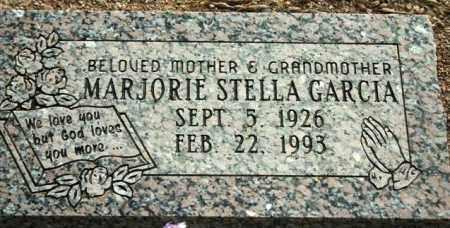 GARCIA, MARJORIE STELLA - Maricopa County, Arizona | MARJORIE STELLA GARCIA - Arizona Gravestone Photos