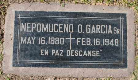 GARCIA, NEPOMUCENO O, SR. - Maricopa County, Arizona | NEPOMUCENO O, SR. GARCIA - Arizona Gravestone Photos