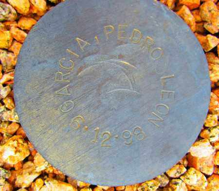 GARCIA, PEDRO LEON - Maricopa County, Arizona   PEDRO LEON GARCIA - Arizona Gravestone Photos