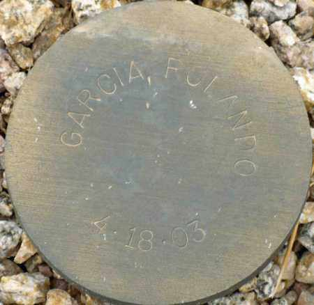 GARCIA, ROLANDO - Maricopa County, Arizona   ROLANDO GARCIA - Arizona Gravestone Photos
