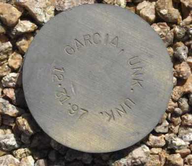 GARCIA, UNK.UNK - Maricopa County, Arizona | UNK.UNK GARCIA - Arizona Gravestone Photos