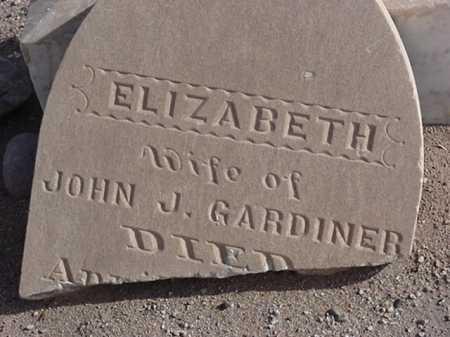 GARDINER, ELIZABETH - Maricopa County, Arizona | ELIZABETH GARDINER - Arizona Gravestone Photos