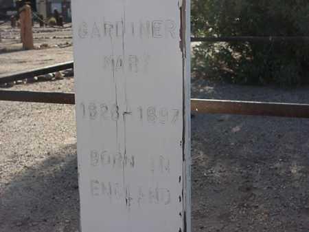 GARDINER, MARY - Maricopa County, Arizona | MARY GARDINER - Arizona Gravestone Photos