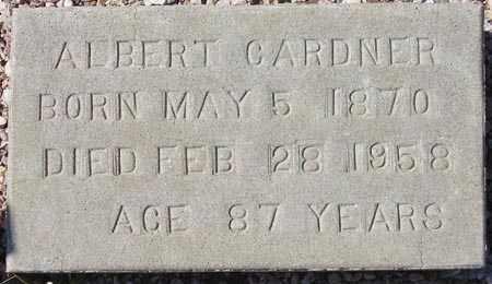 GARDNER, ALBERT - Maricopa County, Arizona   ALBERT GARDNER - Arizona Gravestone Photos